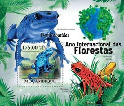 Stamps Mozambique 2013 Lizards And Snakes Stamp Souvenir Sheet 13a-1351 Traveling