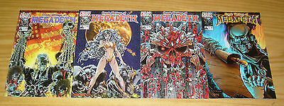 Cryptic Writings of Megadeth #1-4 VF/NM complete series DAVE MUSTAINE chaos 2 3