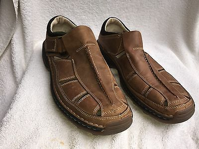 Timberland Mens Sz 10.5M US Brown Leather Shoes