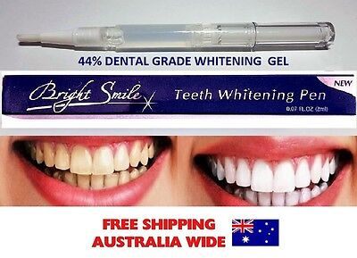 EXTRA  STRONG 44% Teeth Whitening Pen Tooth Gel High Strength Home Use