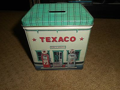 Texaco Rudy's Service Metal Bank