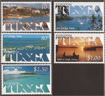 Tonga 1999 Scenic Views 5 Stamp set 20N-026