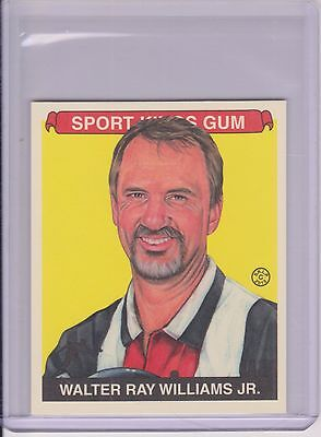 Awesome 2013 Sport Kings Walter Ray Williams Card #303 ~ Pba Bowling Legend