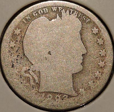 Barber Quarter - 1893-S - Historic Silver! - $1 Unlimited Shipping