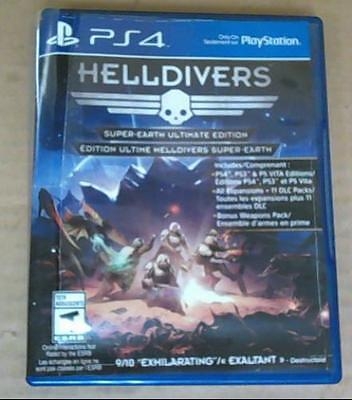Helldivers Super- Earth Ultimate Edition, Playstation 4 PS4