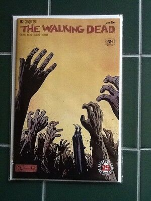 "The Walking Dead Issue #163 ""Conquered"" Image Comic Kirkman"