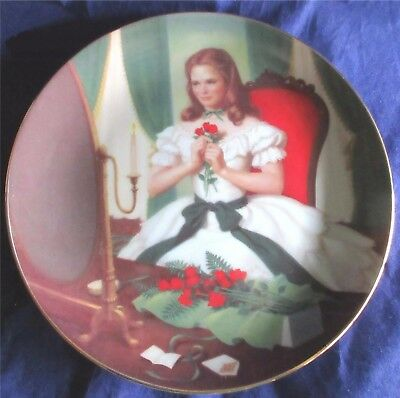 MEG The Little Women Collection Plate From Danbury Mint By Elaine Gignilliat