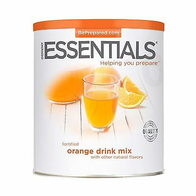 Emergency Essentials Dehydrated  Drink Mix, Fortified Orange can 85 oz