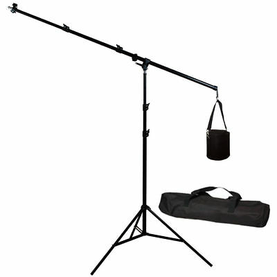 Lusana Studio Photography Overhead Boom Light Stand Lighting stand w/ weight bag