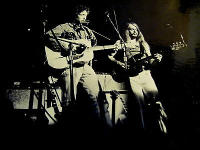Bob Dylan / Leon Russell - Great Stage Shot 8 X10 -K@@l