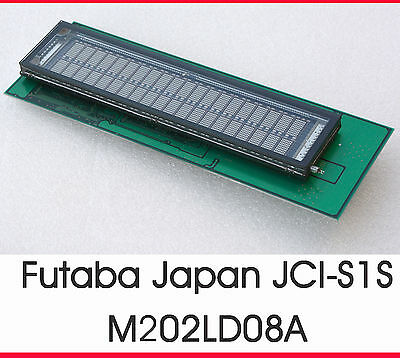 Futaba M202LD08A Vfd Display Display JCI-S1S M202LD08 Perfect Condition #13