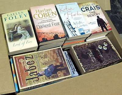 100+ Mixed Paperback Fiction Books - Job Lot / Wholesale - Free Delivery!