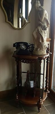 Victorian Style Canterbury Beautiful Hallway Piece /telephone Stand Delightful