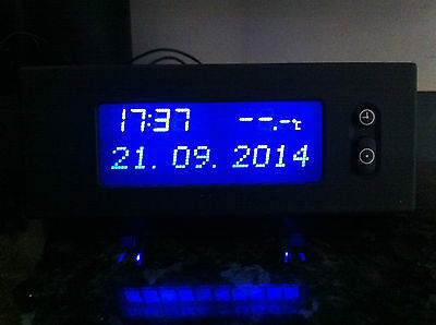 Vauxhall Astra G Mk4 Digital Radio, Date, Time Display 98-04, *blue Display*