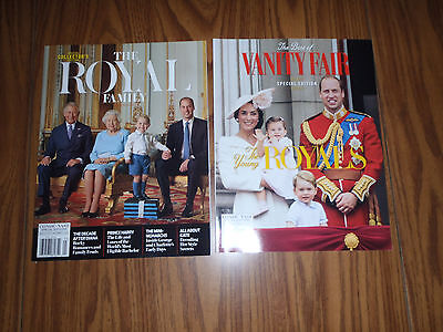 Lot Of 2~The Young Royals~ And ~The Royal Family Collector's Edition