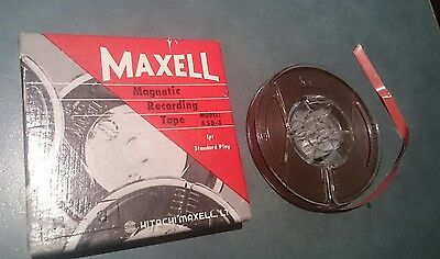 Vintage Maxell Reel To Reel Tape In Box