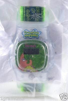 Kellogg's Cereal Green Patrick Watch From SpongeBob Squarepants New In Package