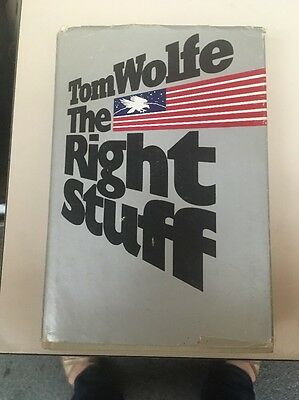 The Right Stuff by Tom Wolfe HCDJ1st 1979