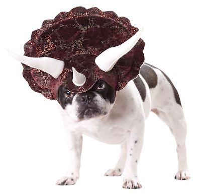 Triceratops Xsmall Dog Costume Halloween Dress up Headpiece Hat XS Animal Planet