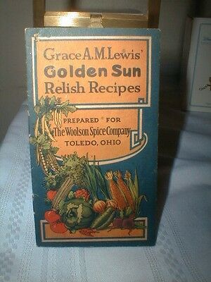 Early Grace Lewis Relish Recipes Woolson Spice Co