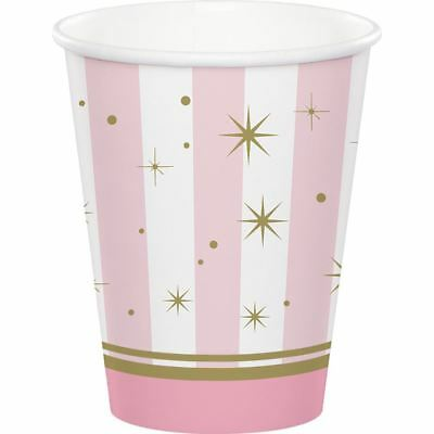 Twinkle Toes 8 9 Oz Hot Cold Paper Cups Birthday Party Dance Recital Ballerina