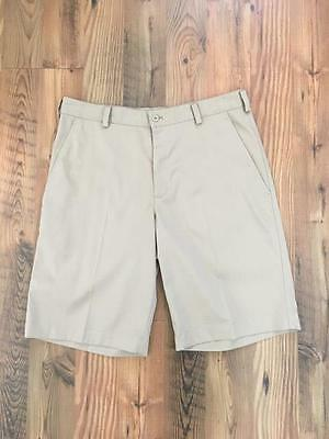 Nike golf fit dry beige men's size 32 shorts