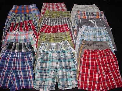 USED BABY TODDLER BOY 3T 4T SHORT SHORTS SPRING SUMMER CLOTHES LOT FreeShipping