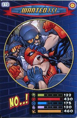Spiderman Heroes And Villains Card #270 Wanted