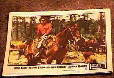 Guns Of The Timberland 1960 Lobby Card #8 Alan Ladd