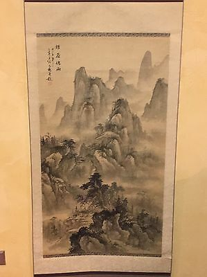 CHINESE HANGING SCROLL Guilin Gulin Landscape.