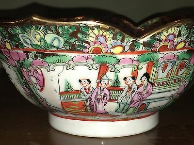 Chinese Famille Rose Porcelain Bowl Fine Quality Marked