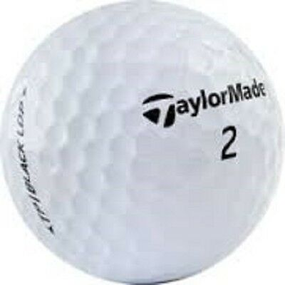 100 Near Mint Taylormade Mix Assorted Used Golf Balls + Tees