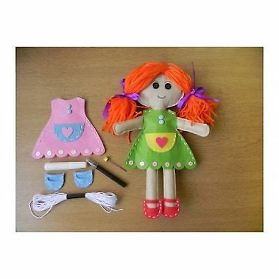 Craft kit Apples to Pears Make Your Own Ragdoll in a Tin