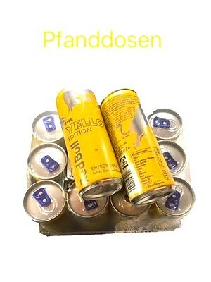 Red Bull Energy 12 X 250ml Dosen, Yellow-Edition Tropical