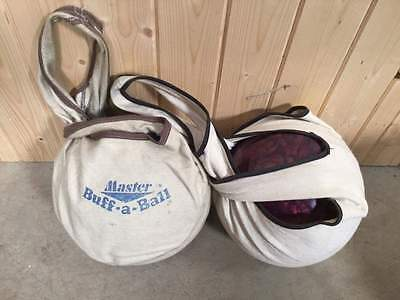 BRQ 1100 Zone & Command Bowling Balls & Brunswick Trolley   #343