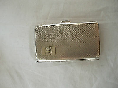 Art Deco Card Case Sterling Silver Birmingham 1926