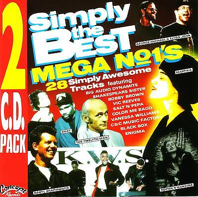 **  SIMPLY THE BEST MEGA NO. 1's / VARIOUS ARTISTS  -  2 CD SET