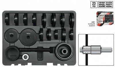 Wheel bearing tools kit puller Professional Press Mount 23 Pieces