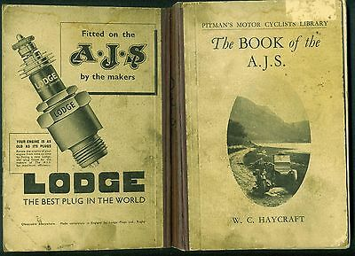 Vintage Motorcycle Book AJS 1932-1938 models 9 2 2A 12 22 26 8 18 22T 26T 18T