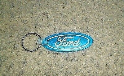 Ford Blue Oval Rubber Key Chain - Don Reid Ford Maitland Florida Advertisement