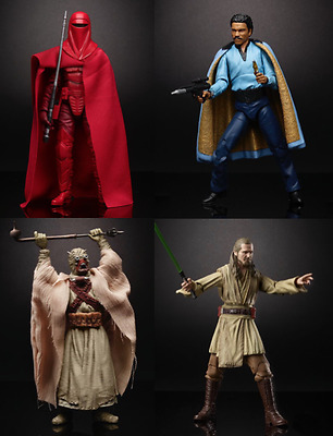New Star Wars The Black Series 6 Inch Action Figure Wave 11 set of 4