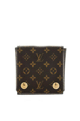 Louis Vuitton Brown Monogram Canvas Mini Jewelry Case In Box MHL