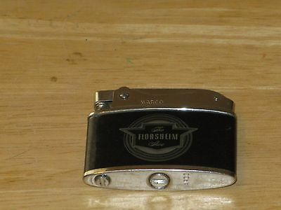 The Florsheim Shoe Advertising Lighter Vintage Warco Made In Japan