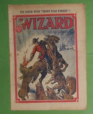 The Wizard Comic # 775 , Dc Thomson , 9Th October  1937,