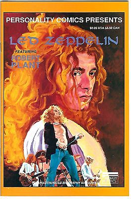 Personality Comics Presents Led Zeppelin #1: Robert Plant (1992)  VG/FN  1st Prt