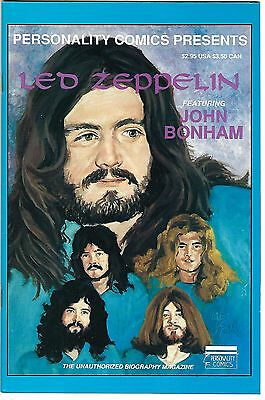 Personality Comics Presents Led Zeppelin #3: John Bonham (1992)  FN  1st Prt