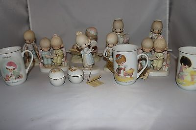 Lot of 10 Vintage Precious Moments Figurines