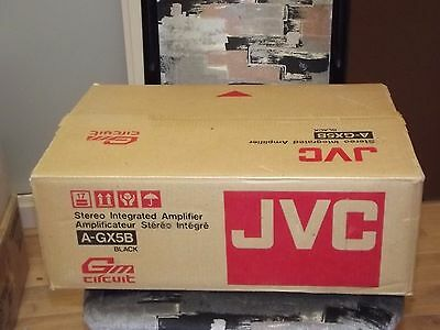 JVC A-GX5B Stereo Amplifier AMP Mint Box and Manual Made in JAPAN