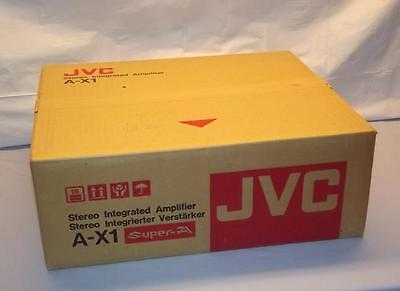 JVC AX-1 Stereo Integrated Amplifier Super A NEW IN BOX