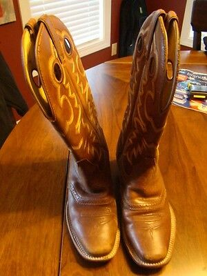 Women's Rocky brown leather western boots size 6